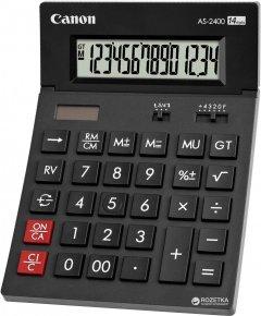 Калькулятор электронный Canon 14-разрядный AS-2400 (4585B001AA)