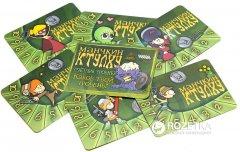 """Настольная игра Hobby World Набор счетчиков уровней """"Манчкин Ктулху"""" Зеленый (4620011810779)"""