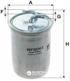 Фильтр топливный WIX Filters WF8043 - FN PP838