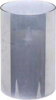 Восковая свеча Christmas Decoration 15х10 см (AX5425100_grey)
