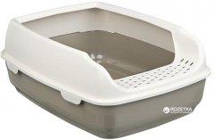 Туалет для кошек Trixie Delio 35х20х48 см Светло-серый (4047974403938)