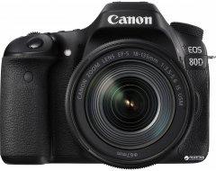 Фотоаппарат Canon EOS 80D EF-S 18-135mm IS Nano USM Kit (1263C040) Официальная гарантия!