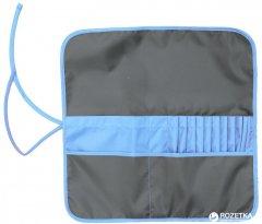 Пенал для кистей Rosa Studio 37 х 37 см Асфальт с синим (4823086703452)
