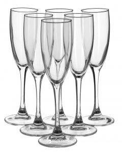 Набор бокалов для шампанского Luminarc OC3 Signature 6 шт х 170 мл (H8161/1)