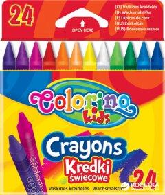Карандаши восковые Colorino 24 цвета (13895PTR)