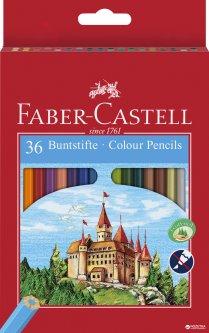 Набор цветных карандашей Faber-Castell 36 шт (7891360580041)