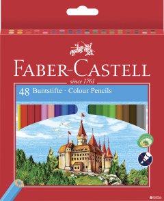 Набор цветных карандашей Faber-Castell 48 шт (7891360579922)