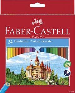 Набор цветных карандашей Faber-Castell 24 шт (7891360580065)