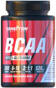 Аминокислота Vansiton BCAA 300 капсул (4820106591372)