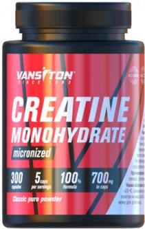 Креатин Vansiton моногидрат 300 капсул (4820106590498)