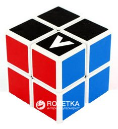 Головоломка V-Cube Кубик Рубика 2х2 V2-WH Белый Плоский (5206457000104)