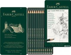 Набор графитных карандашей Faber-Castell Castell 9000 Art Set 12 шт (119065)