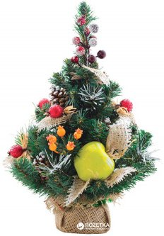 Искусственная елка с украшением Новогодько (YES! Fun) Тропиканка Плетеная ПВХ 0.45 м (4820079035910)