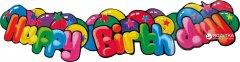 Баннер Susy Card Happy Birthday 1 шт 1.3 м Разноцветный (11347671)