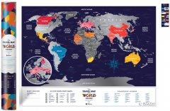 Скретч-карта мира 1DEA.me Travel Map Holiday World (HW)