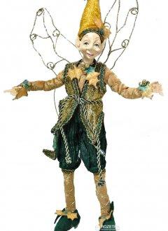 Фигурка Scorpio Кукла-эльф 40 см Зелено-золотистый (570695)(4820005706952)