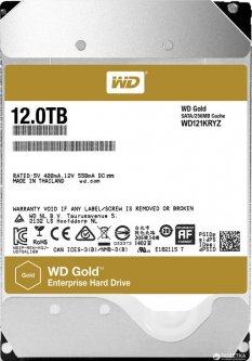 "Жесткий диск Western Digital Gold 12TB 7200rpm 256MB WD121KRYZ 3.5"" SATA III"