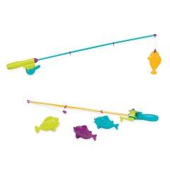 Игровой набор Battat Lite Магнитная рыбалка 2 удочки 4 рыбки (BT2540Z) (6900006518421)
