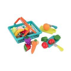 Игровой набор для двоих Battat Lite Овощи-фрукты на липучках (BT2534Z) (6900006493735)