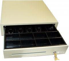 Денежный ящик ІКС C4141A/C4141AZ Ivory 12 В
