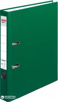 Папка-регистратор Herlitz maX.file Protect А4 50 мм Зеленая (5450507)