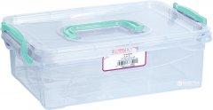 Контейнер для хранения Irak Plastik с ручкой 3.5 л Прозрачный (4651kmd)