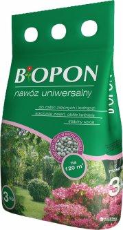 Удобрение гранулированное BIOPON универсальное 3 кг (5904517086906)