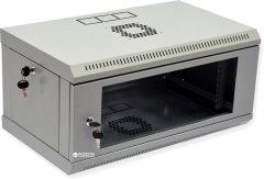 Шкаф монтажный настенный CMS MGSWL 4U Серый (UA-MGSWL435G)
