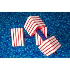 Гантели для аквааэробики треугольные Onhillsport (PLV-2406)