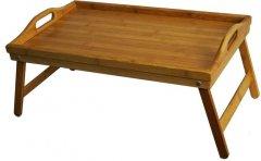 Бамбуковый столик для завтрака Supretto 50х30 см (4713)