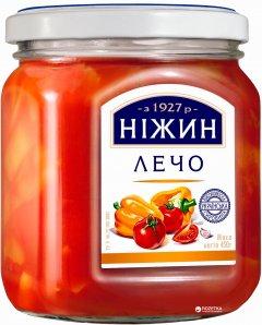 Лечо Нежин (Ніжин) в стеклянной банке 450 мл (4823006801435)