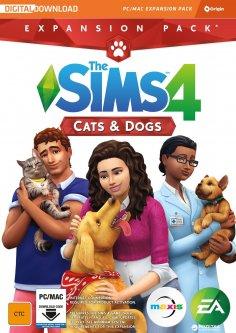 The Sims 4: Кошки и собаки DLC (дополнение) для ПК (PC-KEY, русская версия, электронный ключ в конверте)