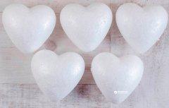 Набор пенопластовых фигурок Santi Сердце 5 шт 85 мм (740616) (5009077406161)