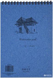 Альбом для акварели на спирали Smiltainis Authentic А5 280 г/м2 20 листов (4770644585718)
