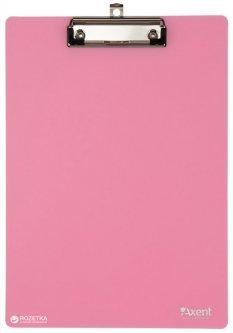 Планшет Axent с металлическим клипом А4 РР розовый (2515-10-A)