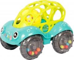 Погремушка-игрушка Lindo Б 339 Голубая с желтым (4890210503394)