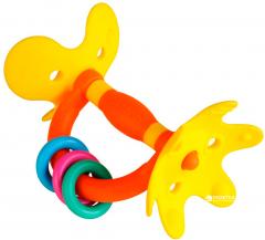 Прорезыватель Pigeon Step1 Цветок Оранжевый с желтым с 4 месяцев (4902508131384)