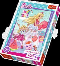 Пазл Trefl Барби мира Mattel Barbie 100 элементов (16314)