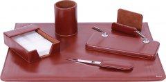 Набор настольный из 6 предметов Cabinet Коричневый (O36480)