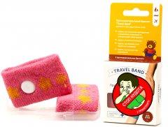 Браслет от укачивания для детей Travel Band Pink (4820037690540P)