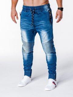 Джинсы мужские джоггеры D649 - голубой Ombre M Голубой