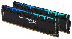 Оперативная память HyperX DDR4-2933 16384MB PC4-23500 (Kit of 2x8192) Predator RGB (HX429C15PB3AK2/16)