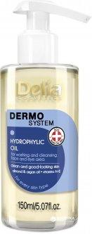 Гидрофильное масло для умывания лица и области глаз Delia cosmetics Dermo Sistem 150 мл (5901350468265)