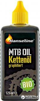 Смазка для цепи Hanseline BIO-MTB-Oil графитная 125 мл (300272)