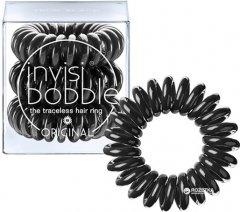 Резинка-браслет для волос Invisibobble Original True Black 3 шт (4260285373015)