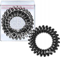 Резинка-браслет для волос Invisibobble Power True Black 3 шт (4260285373237)