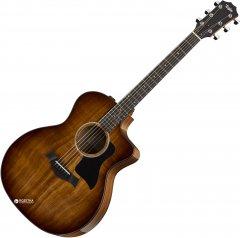 Гитара электроакустическая Taylor 224CE-K DLX (227222)