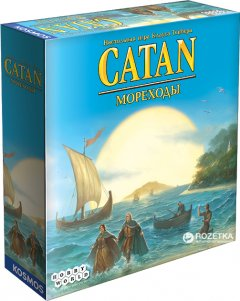 Настольная игра Hobby World Колонизаторы. Мореходы (3-е издание: CATAN) (4620011818959)