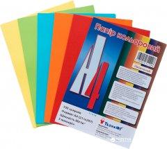 Набор бумаги офисной цветной ТехноЮг Mini ассорти насыщенная А4 80 г/м2 100 листов 5цветов по 20 листов (А4/80-TU-5цв.intens)