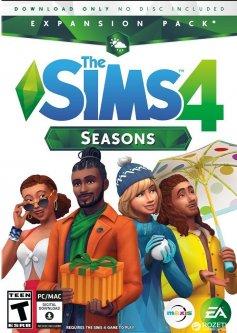 The Sims 4: Времена года. DLC (дополнение) для ПК (PC-KEY, русская версия, электронный ключ в конверте)
